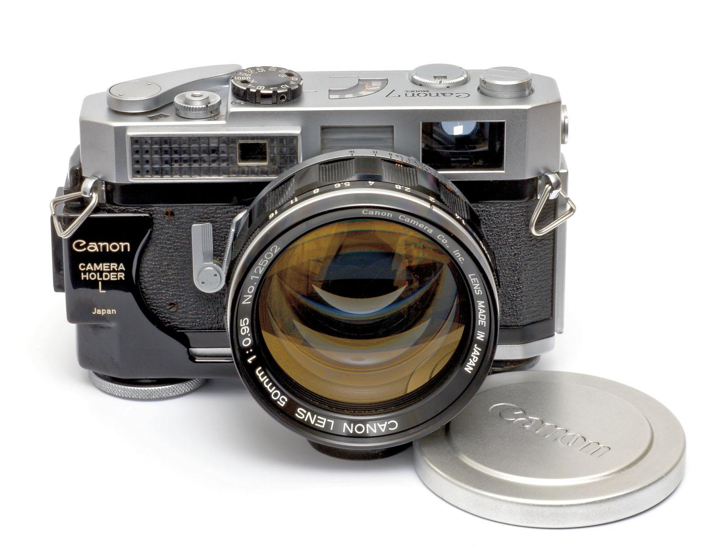 Canon 7 + Canon Camera Holder L