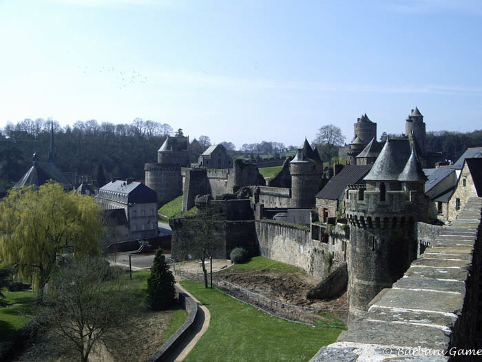 Castle view, Fougeres