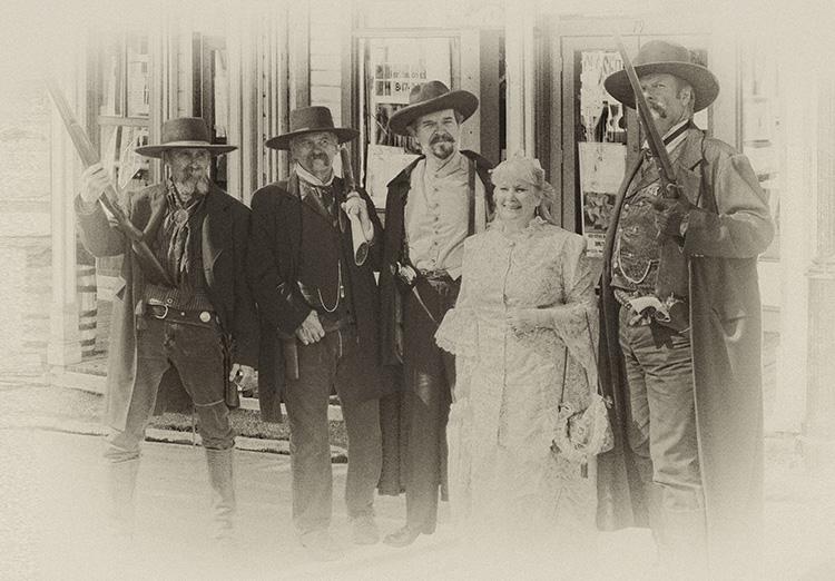 Virginia City Living Legends... Old Time