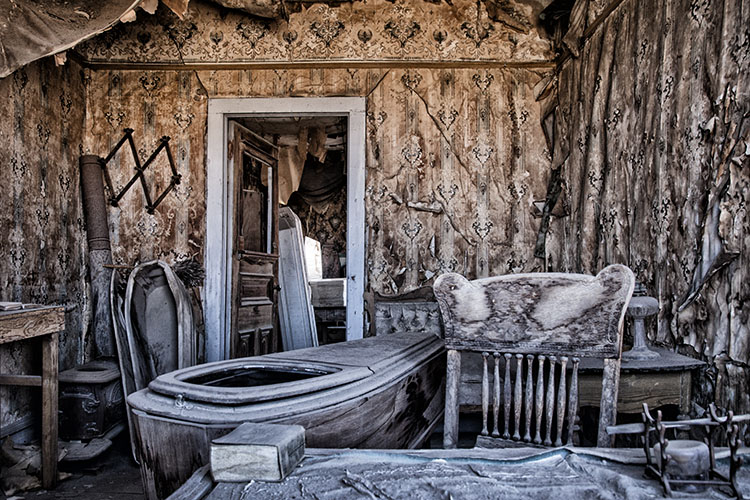 Undertakers at Bodie Ghost Town