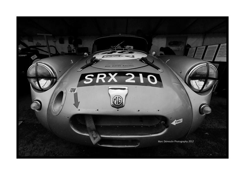 MG A, Le Mans