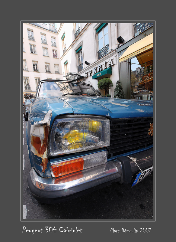 PEUGEOT 304 Cabriolet Paris - France