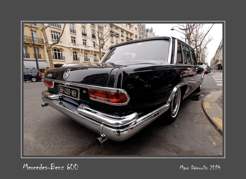 MERCEDES-BENZ 600 Paris - France