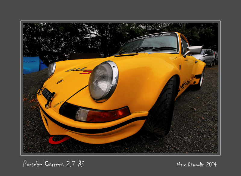 PORSCHE Carrera RS 2,7 Le Mans - France