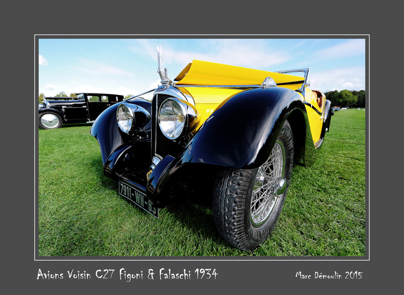 AVIONS VOISIN C27 Figoni & Falaschi 1934 Chantilly - France