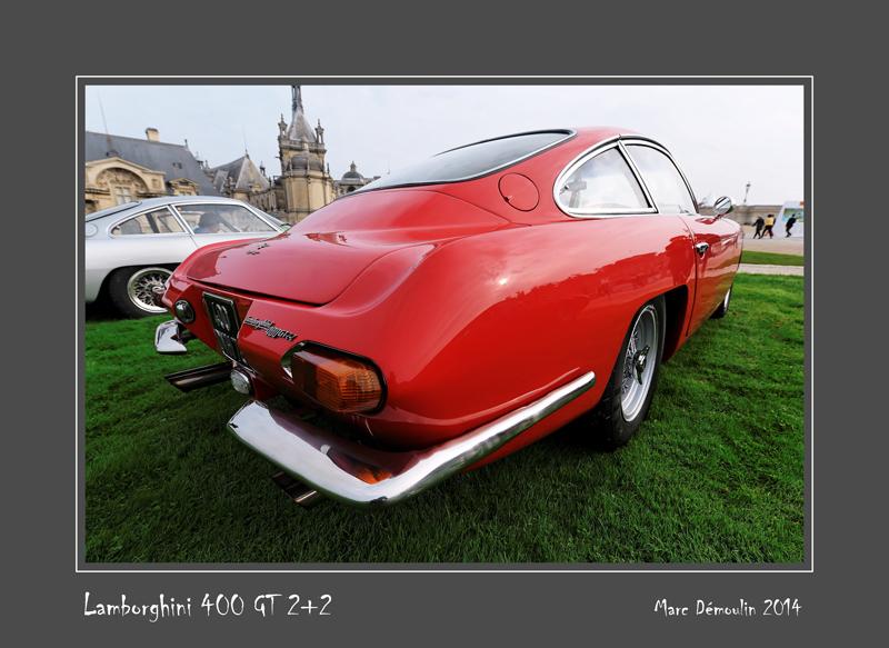LAMBORGHINI 400 GT 2+2 Chantilly - France