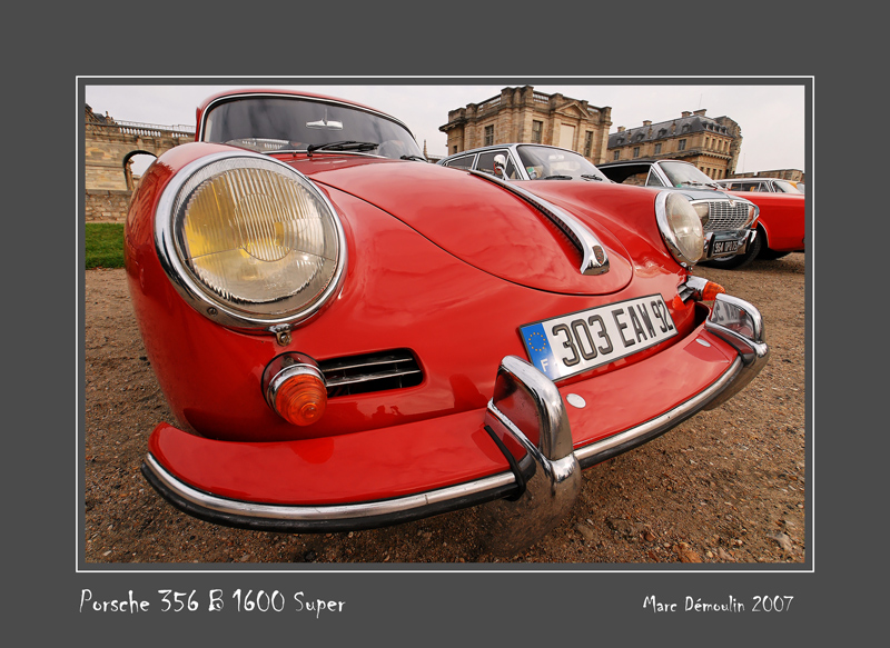 PORSCHE 356 B 1600 Super Vincennes - France