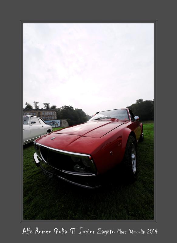 ALFA ROMEO Giulia GT Junior Zagato Chantilly - France