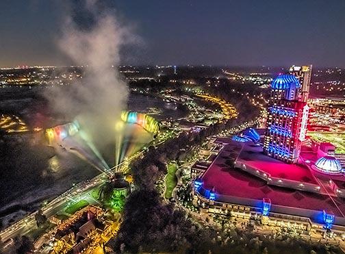 Niagara Falls At Night DSCF05966-9