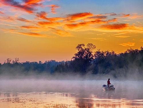 Sunrise Fisher 20130818