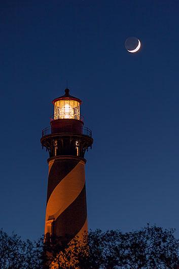 Lighthouse & Moon 1921
