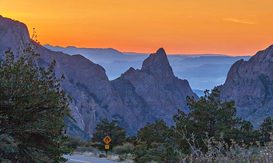 Big Bend Sunset 6391