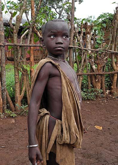 Surma boy;  south-western Ethiopia.