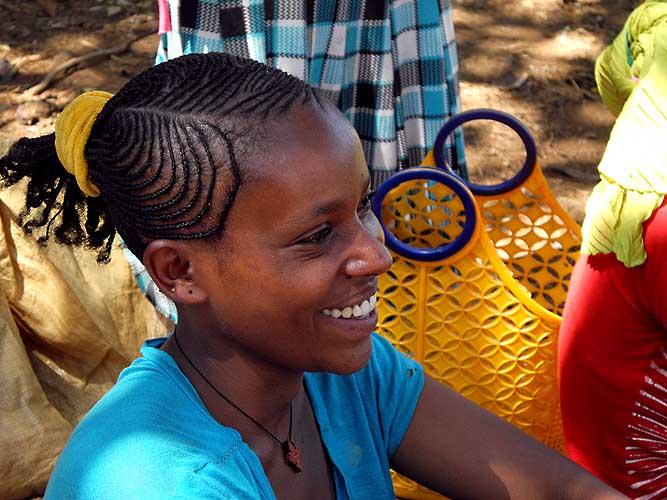 Oromo girl.