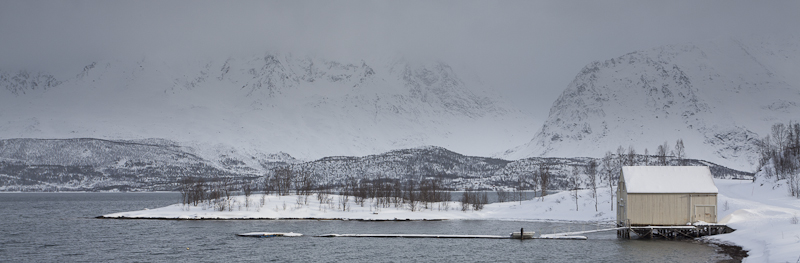 Winter in Sommarbukta