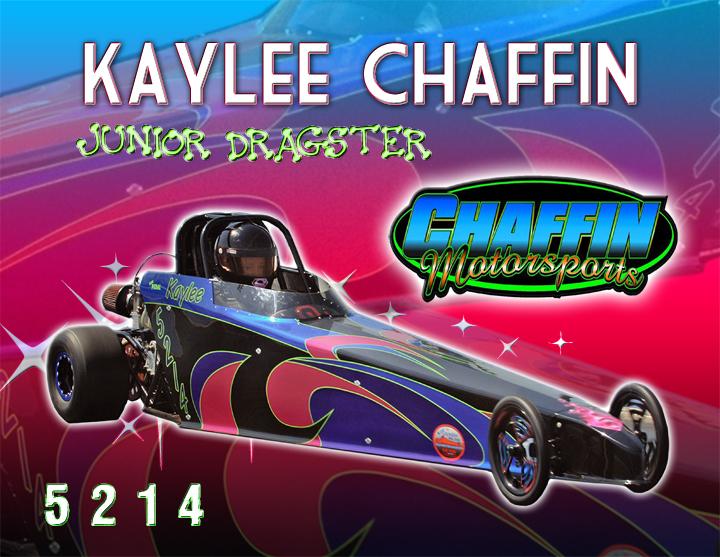 Kaylee Chaffin Jr. Dragster 2013