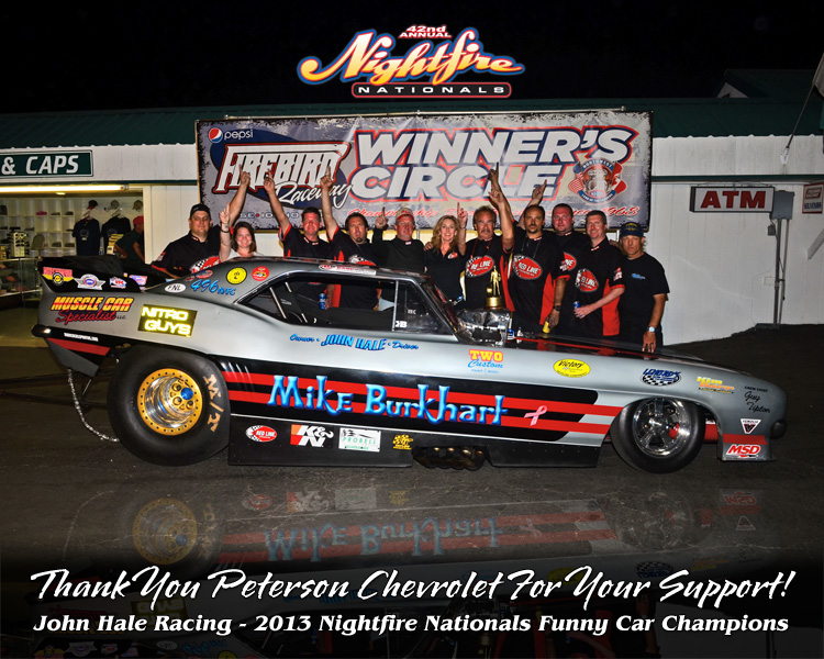 John Hale Racing Thank You Poster