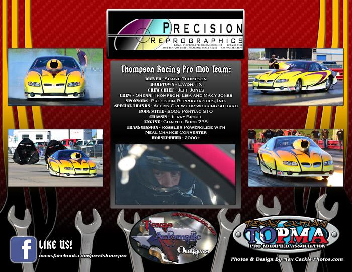 Shane Thompson Pro Mod 2014