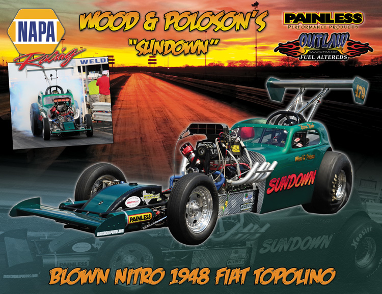 Nick Poloson Outlaw Fuel Altered