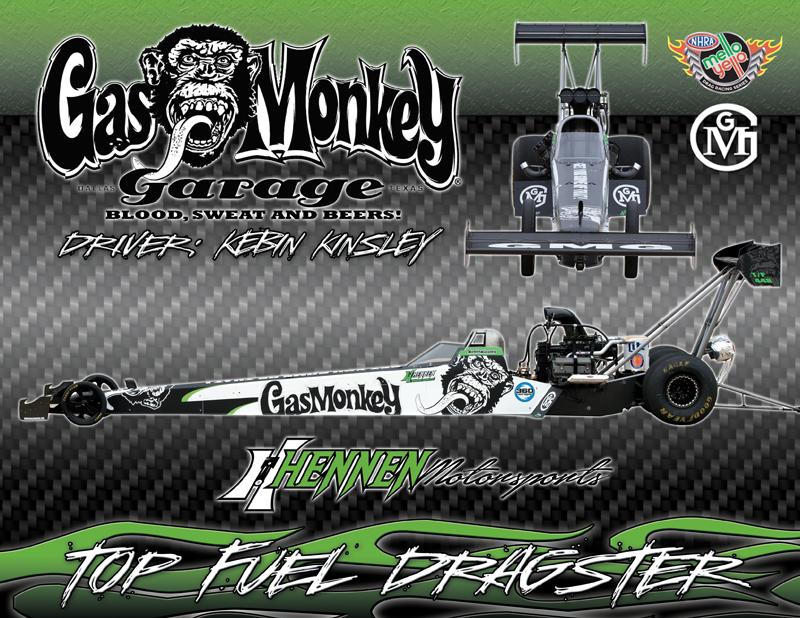 Hennen Motorsports Top Fuel