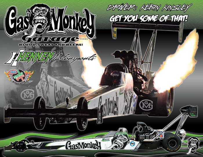 Gas Monkey Top Fuel 2014