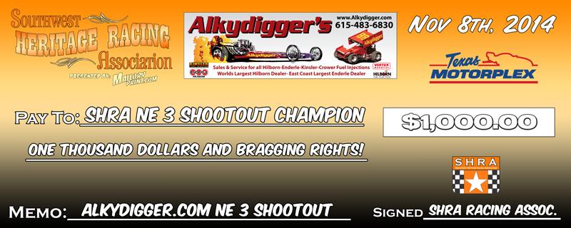 SHRA 2014 Shootout Jumbo Check