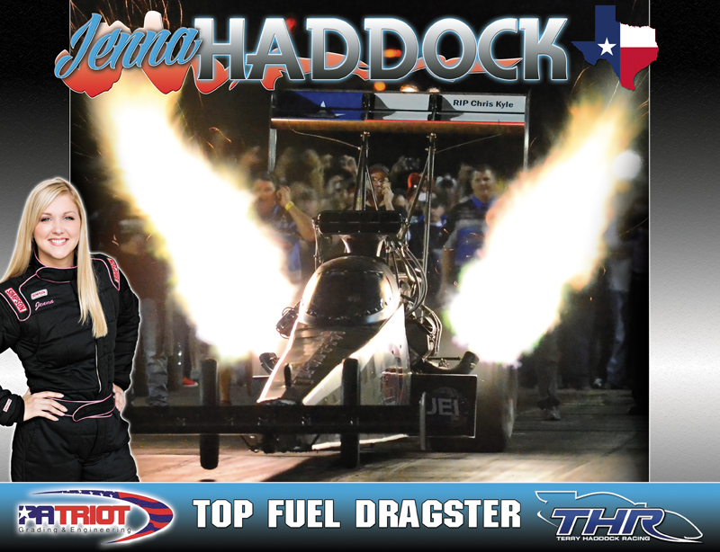 Jenna Haddock Top Fuel 2015