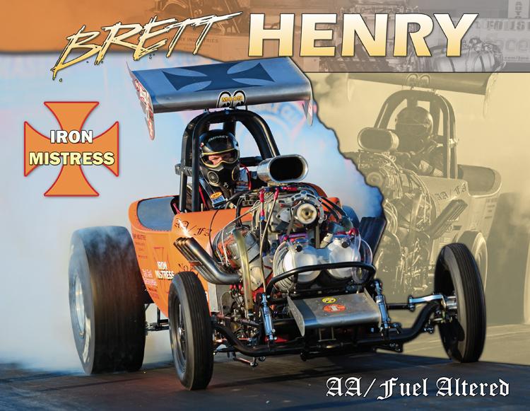 Brett Henry Fuel Altered 2015