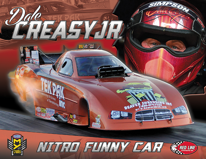 Dale Creasy Jr Nitro Funny Car 2016