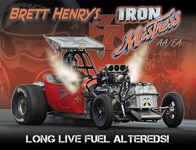 Brett Henry Iron Mistress AA/FA 2016
