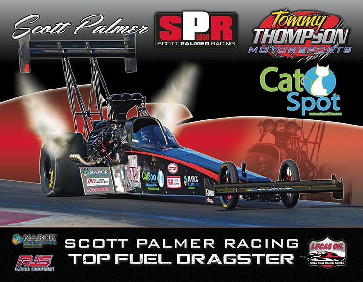 Scott Palmer 2017 Top Fuel