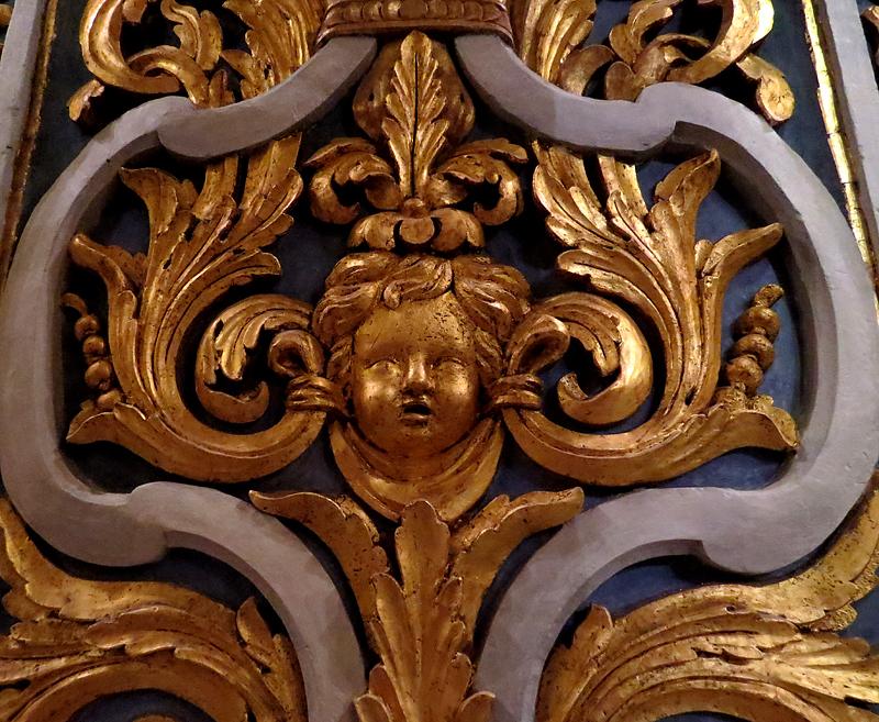 Intérieur de la co-cathédrale St-Jean, La Valette