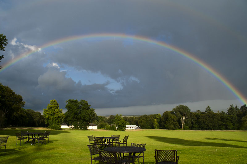 26th July 2013 <br> rainbows and showers