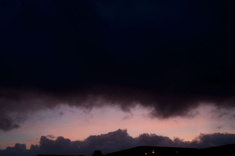 14th November 2013 <br> stormy sky