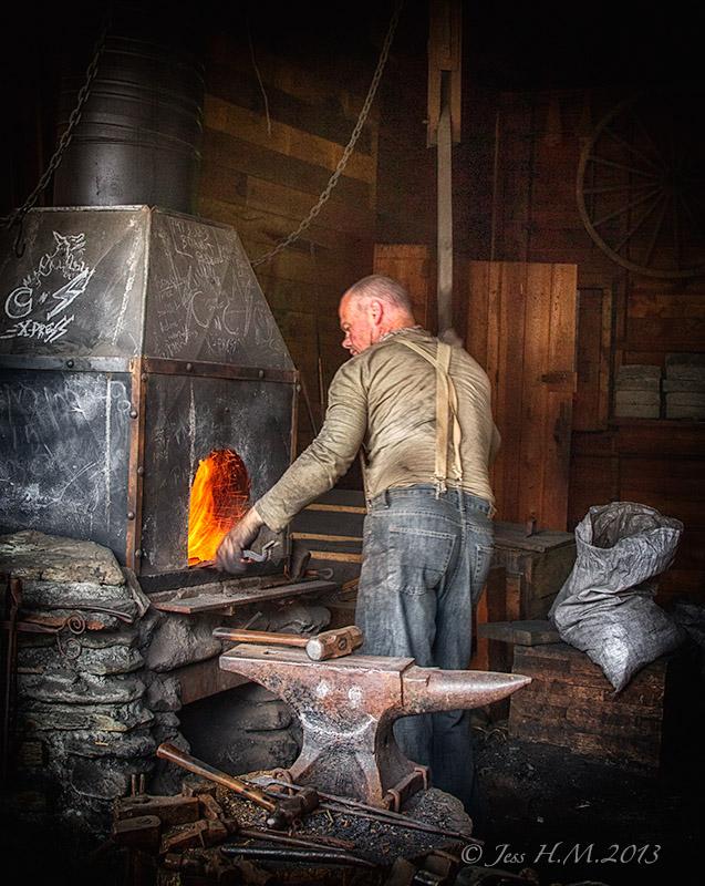 Barkerville Blacksmith