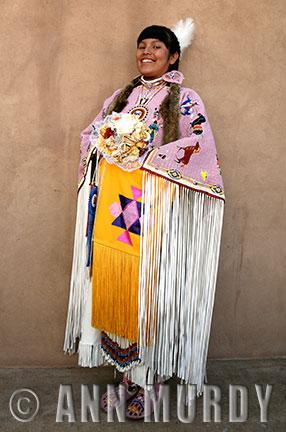Aaliyah Gonzales, San Idelfonso Jemez, Lakota-Sioux
