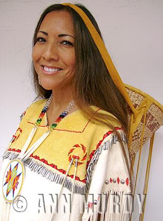 Mary Kim Titla, Apache
