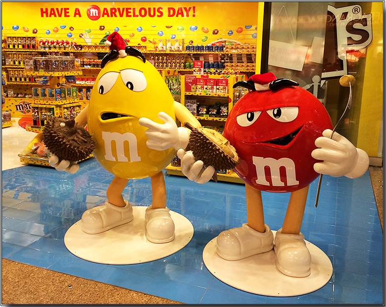 Durian M&Ms