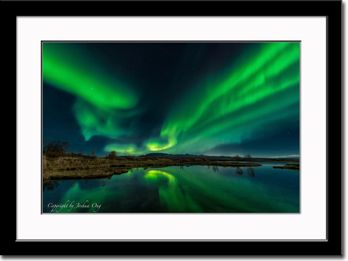 Aurora Borealis in Its Full Glory