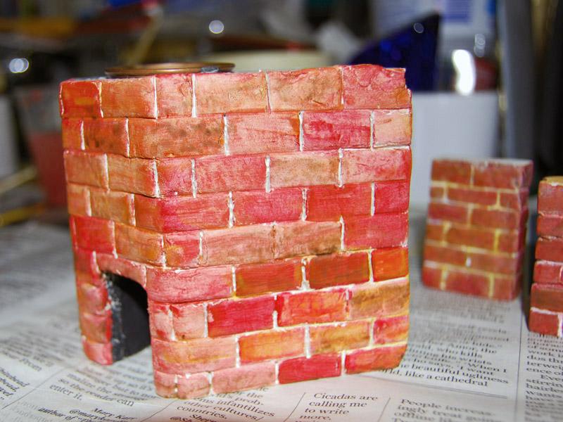 Painting the Brickwork<br />6802