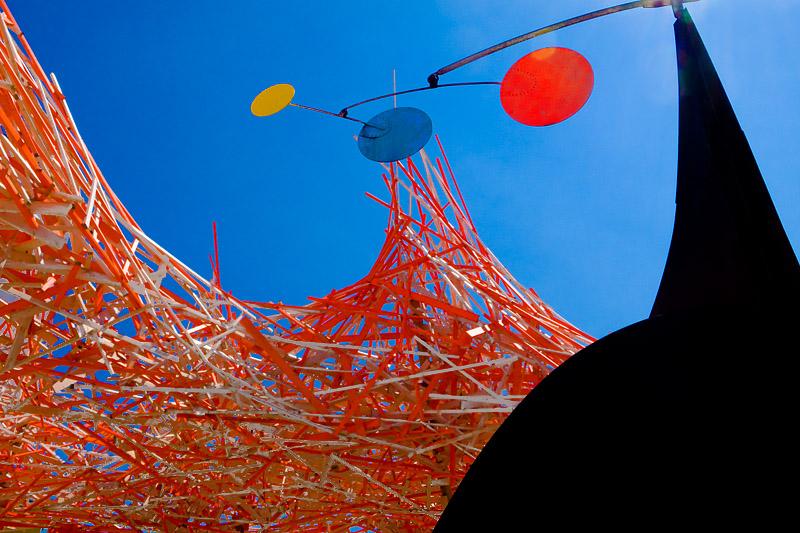 Arne Quinze and Alexander Calder<br> MAMAC Nice