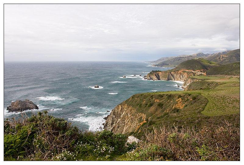 California Coast, just North of Big Sur