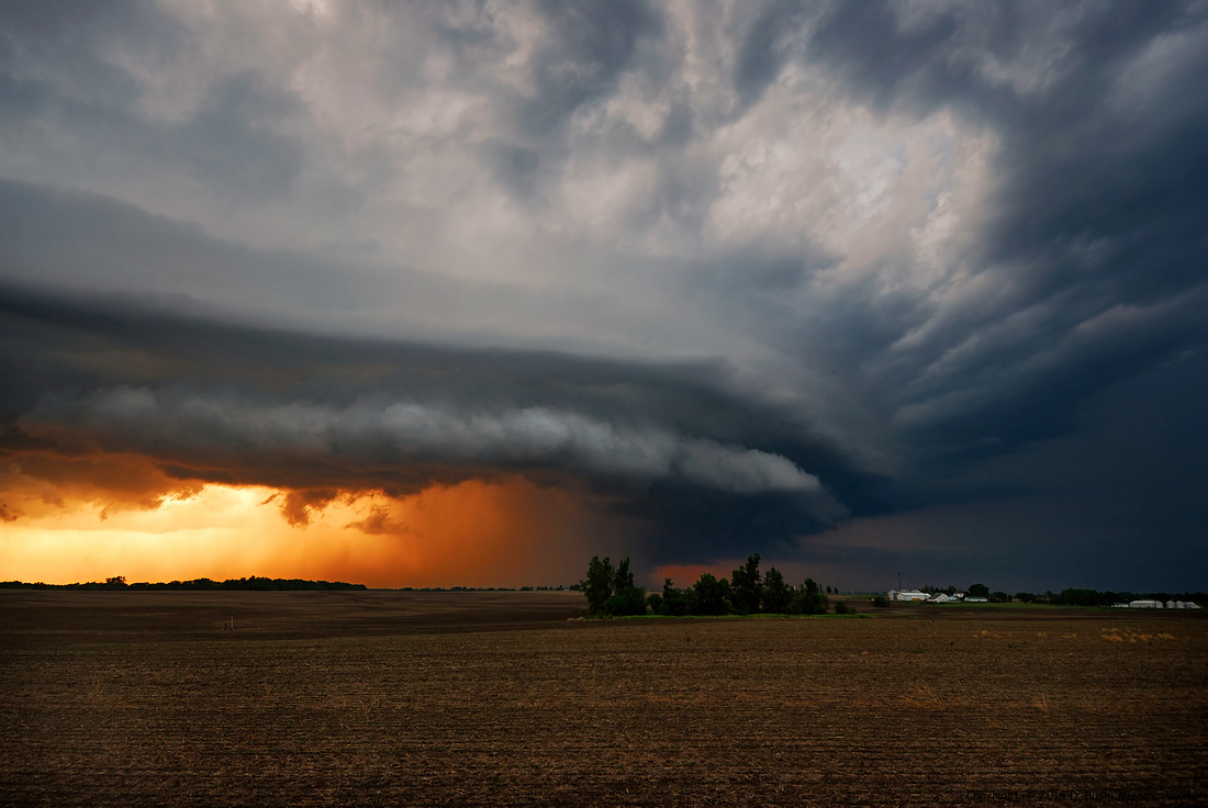 Supercell Storm near Maysville, Missouri