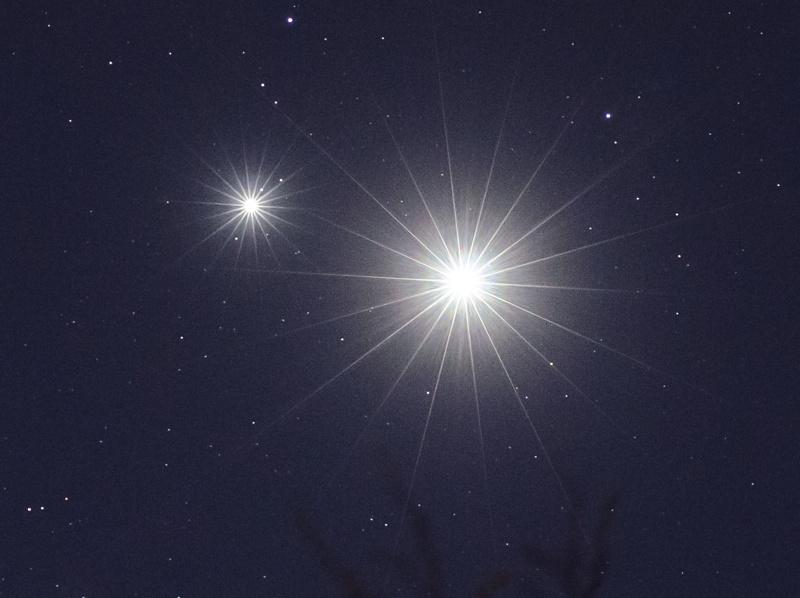 Venus & Jupiter Spikes
