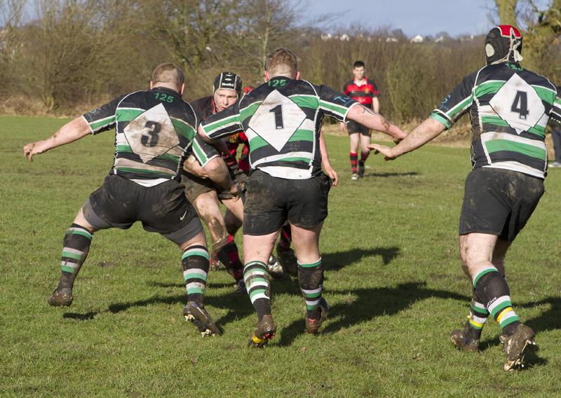 1st XV v Hessle 5-3-2011