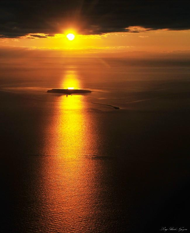 Smith Island in Strait of Juan de Fuca
