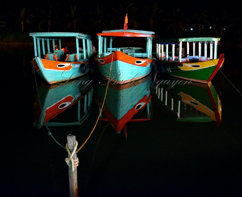 tour boats, Hoi An river, Hoi An, Vietnam