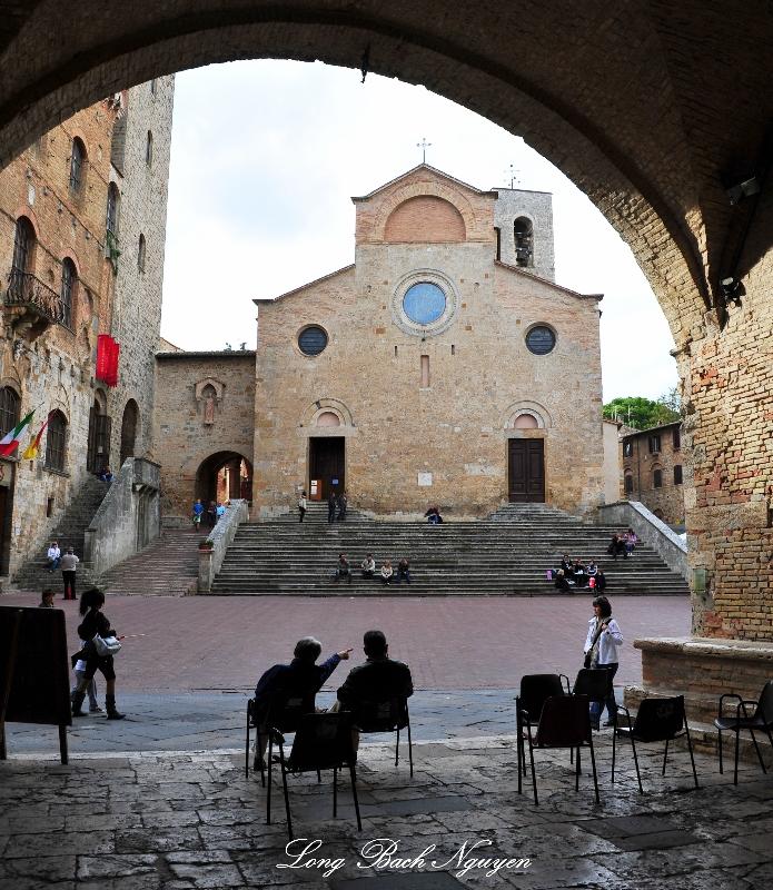 Il Duomo, Piazza del Duomo, San Gimignano, Italy