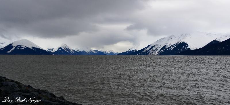 Turnagain Arm, Chugach Mountain, Anchorage, AK