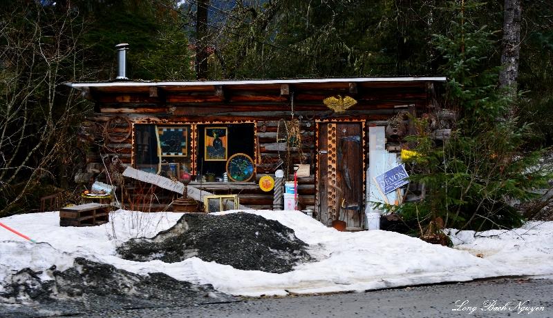 Stained Glass Cabin,  Girdwood, AK